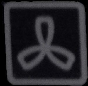 Symbol for varmluft i ovn - Quickparts hjælper med ovnens symboler
